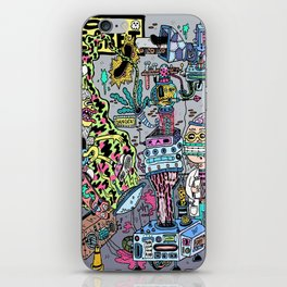 How It's Made: Skateboard Edition iPhone Skin