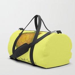 Turtle - Slowly but Surely - Lazy Animals Duffle Bag