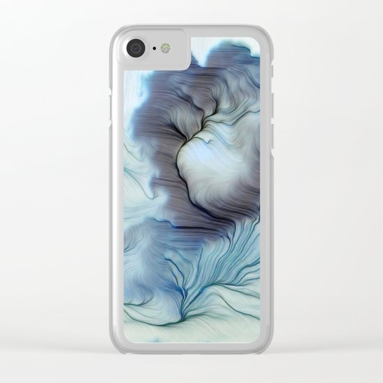 The Dreamer Clear iPhone Case