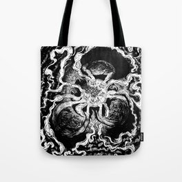 Live elves and fairies in a ring Tote Bag