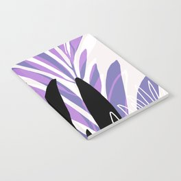 Lavender Olive Branches / Contemporary House Plant Drawing Notebook
