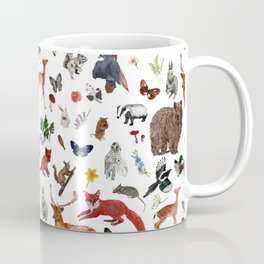 Wild Woodland Animals Coffee Mug