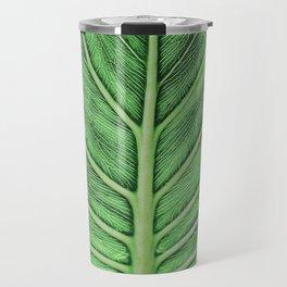 leaf vein [muted] Travel Mug
