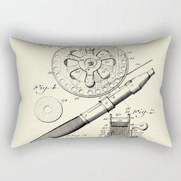 Fishing Reel-1906 Rectangular Pillow
