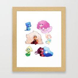SU Smols Framed Art Print