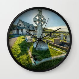Celtic Cross Wall Clock