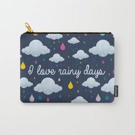I love Rainy Days Carry-All Pouch