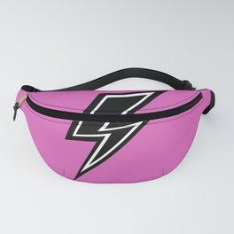 Lightning On Pink Fanny Pack