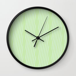 Cross Hatched 1 Wall Clock