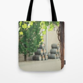In the Winery Tote Bag