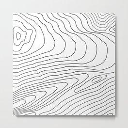 Topographic #440 Metal Print