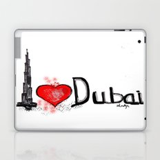 I love Dubai 1 Laptop & iPad Skin