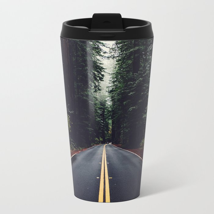 The woods have eyes Metal Travel Mug