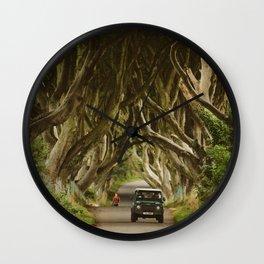 Dark Hedges, Northern Ireland Wall Clock