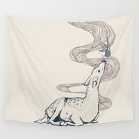 huebucket Wall Tapestries featuring Pacifier by Huebucket