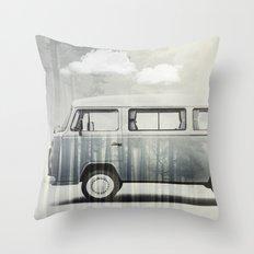 Kombie Dreaming Throw Pillow