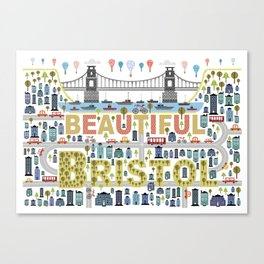 Beautiful Bristol Canvas Print