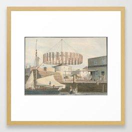 ALBERT EDELFELT, ALBERT EDELFELT, A STUDY FOR THE PAINTING INTERIOR OF A CROFTER'S COTTAGE Framed Art Print