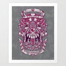 Reckless Tongue Art Print