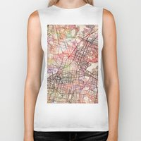 mexico Biker Tanks featuring Mexico by MapMapMaps.Watercolors