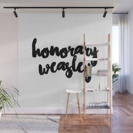 Honorary Weasley Wall Mural