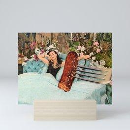 Breakfast in Bed Mini Art Print