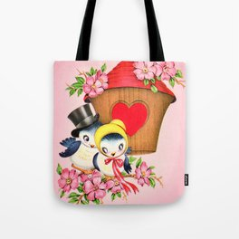 Love Birdhouse Tote Bag