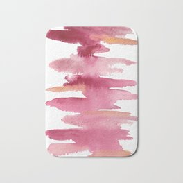 Abstract Lines- Pink Bath Mat