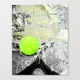 Tennis Art 2 Canvas Print