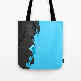 Cyan Tears Tote Bag
