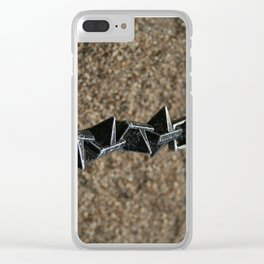 chain link Clear iPhone Case