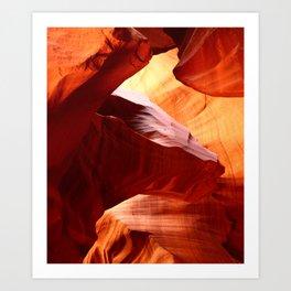 A Symphony In Sandstone Art Print