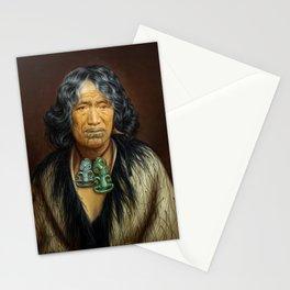 Kuinioroa, daughter of Rangi Kopinga  - Maori Portrait Stationery Cards