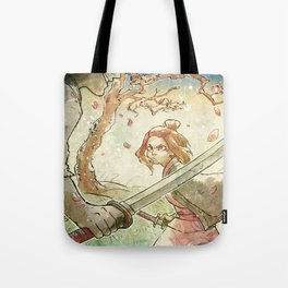 Edo Japan Samurai Ochako! Tote Bag