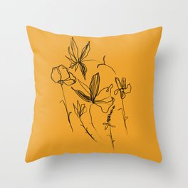 Remember The Small Joys Of Spring Throw Pillow