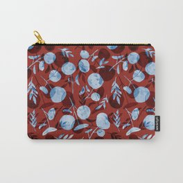red pilea baby Carry-All Pouch