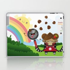 Roasted Chestnuts can save the world!!! Laptop & iPad Skin
