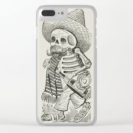 Calavera of Francisco Madero, Posada Clear iPhone Case