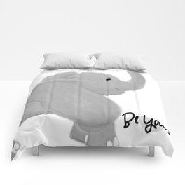 Elephant Be Yourself Comforters