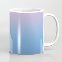 Ombre Pink Blue Ultra Violet Gradient Pattern Coffee Mug