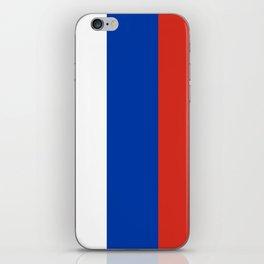 Flag of russia iPhone Skin