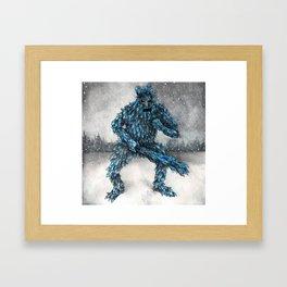 Frost Giant Framed Art Print