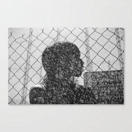 Rock Chain Canvas Print