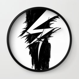 Lightning Arts Logo Wall Clock