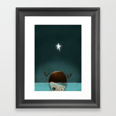 ...Under the Sea... Framed Art Print