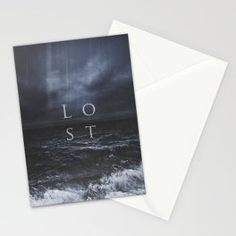 Lost in the sea Stationery Cards
