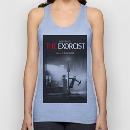 Fred Astaire in The Exorcist Unisex Tank Top