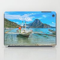 philippines iPad Cases featuring Palawan Beach Philippines by Clive Eariss