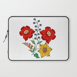 Hungarian placement print - white Laptop Sleeve