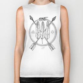 Ouroboros Logos Biker Tank